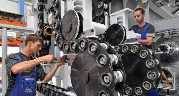 机构预测2020年德国机械制造业产值继续下滑